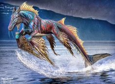 Sea Unicorn There's some brilliant concept art for Percy Jackson: Sea of Monsters, showcasing some designs for the cyclops that are funnier than what ended up on screen. As well as some that are way more horrifying-looking. Sea Of Monsters, Fantasy, Mythical Animal, Sea Creatures, Creature Art, Art, Mythology, Fantasy Horses, Mythological Creatures