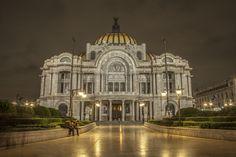 PALACIO DE BELLAS ARTES - ART NOUVEAU EN MEXICO