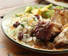 Pork Loin Roast with Sweet Onions and Madeira Wine Sauce
