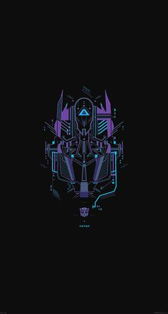 Transformer Logo Two Art Illust #papers.co