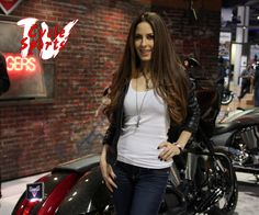 When Kerri Kasem is posing with the bike, we tend to lose focus on the bike.