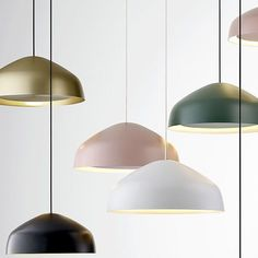 A calming Aura for a Friday. New collection of spun aluminum pendants by @rossgardam. Available in slate white moss musk or anodised champagne in two sizes. #stylecraft #rossgardam #lighting #pendants #aurapendants #australiandesign #australianmanufacturing #interiordesign #interiorinspiration by stylecraft_dot