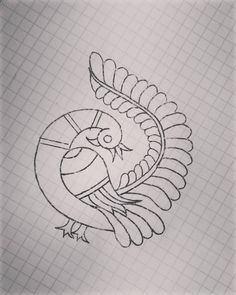 Image may contain: drawing Peacock Embroidery Designs, Kurti Embroidery Design, Embroidery Works, Embroidery Patterns Free, Hand Embroidery Stitches, Beaded Embroidery, Kutch Work Designs, Simple Blouse Designs, Fabric Painting