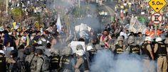 Caos e violência devem marcar a última semana da Copa das Confederações | Globos