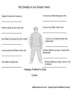 Military-Family Blog from MilitaryAvenue.com: Father's Day Care Package Ideas