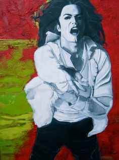 Michael Jackson  original painting by theartofjune on Etsy