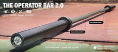 Home Gym Wishlist - Rogue Operator Bar 2.0 - Olympic Barbell - Green