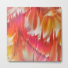 Check out society6curated.com for more! I am a part of the society6 curators program and each purchase through these links will help out myself and other artists. Thanks for looking! @society6 #abstract #abstraction #wall #apartment #decor #homedecor #buy #shop #sale #shopping #apartmentgoals #sophomoreyear #sophomore #year #college #student #home #house #gift #idea #art #metal  #beautiful #beauty #pretty #dorm #dormroom #homesweethome #digitalart #digital #red #orange #white #yellow