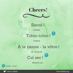 French Language Lessons, French Language Learning, French Lessons, How To Speak French, Learn French, Learn English, Common French Phrases, French Words Quotes, French Basics
