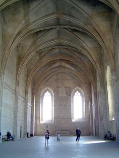 The Grand Chapel, where the Avignon popes worshipped. France - Gothic - One time fortress and palace, the papal residence was the seat of Western Christianity during the 14th century.