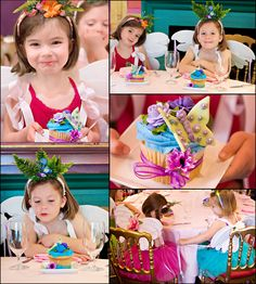 Fairy Princess Party- Fantastic Ideas in Pictures - pinned for Kidfolio, the parenting mobile app that makes sharing a snap
