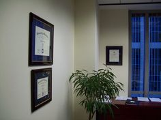 Framing and installation of undergraduate diploma, Juris Doctor certificate, and Order of the Coif certificate, for an attorney with the law firm of Alston & Bird, midtown Atlanta Georgia.  http://www.framedartexpert.com/clients.html