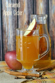 Get ready to warm your insides down to your toes with this tasty Caramel Apple Cider. Nothing announces it's Fall more than walking into a room that is filled with the scent of apples and cinnamon. I took that delicious combo and added my favorite flavor….caramel!
