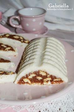 Gabriella kalandjai a konyhában :): Őzgerinces csoda - sütés nélkül Nutrition Tips, Healthy Nutrition, Ice Cream Candy, No Bake Treats, Cake Cookies, No Bake Cake, Naan, Tiramisu, Cake Recipes