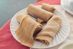 It's traditionally used instead of utensils, so, when eating, you rip off a piece of injera and pick up your next bite with it. It's a fun way to have dinner, especially if you have young kids at home! Kefir How To Make, Kombucha How To Make, Probiotic Foods, Fermented Foods, Ethiopian Injera, High Protein Flour, Make Your Own Yogurt, Teff Flour, New Recipes