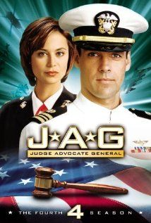 JAG (military-speak for Judge Advocate General) is an adventure drama about this elite legal wing of officers trained as lawyers who investigate, prosecute and defend those accused of crimes in the military