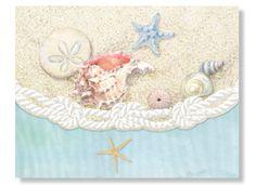 Carol Wilson Sea Shells Note Card Portfolio