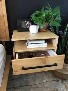 Storage for days! I love the open shelf and the drawer... definitely helps keep the top looking pretty! Privacy Screen Outdoor, Privacy Screens, Concrete Edger, Diy Table, Dining Table, Building A Fence, Cool Deck, Deck Chairs, How To Make Diy