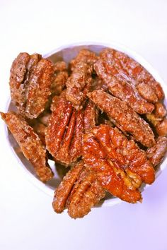 Roasted and Candied Pecans