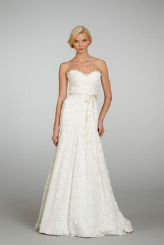 1301 from Jim Hjelm Blush #weddingdress