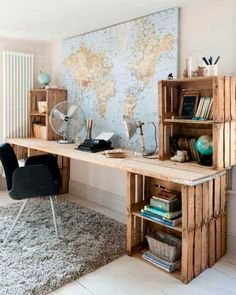 table made of pallets office furniture made of pallets pallet furniture .- tisch aus paletten büromöbel aus paletten palettenmöbel selber bauen Table made of pallets Office furniture made of pallets Pallet furniture build yourself build -
