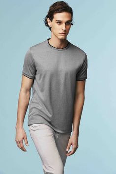 T-shirt Dry Ex gris de la collection Uniqlo x Theory #uniqlo #theory #tshirt