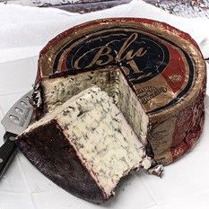 One of our new favorite cheeses is Blu '61, a soft Italian blue cheese washed in sweet wine and covered in red cranberries. This is a blue cheese lover's dream, as well as the labor of love of the cheese maker himself.