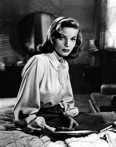 the beautiful Lauren Bacall (born Betty Joan Perske on September 16, 1924)