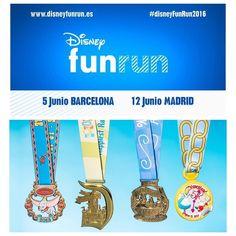 Quieres pasar el día en familia y haciendo deporte? Llega la Fun Run de @disneyspain  #deporte #family #niños #running #disney by chicasbels