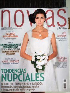 La destacada revista NOVIAS reseño el trabajo de Conexión Cartagena.