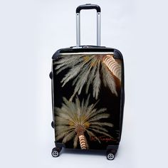 "Get your super chic travel Icon Luggage - ""Palm X-mas"" - 24"" Check-In from SkyMall.com!"