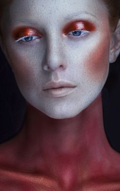 Dark Beauty - Make-up - fotografiethemen Makeup Inspo, Makeup Art, Eye Makeup, Dark Makeup, Makeup Ideas, Art Visage, Dark Beauty Magazine, Make Up Inspiration, Beauty Makeup Photography