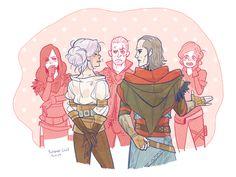 Геральт,Witcher Персонажи,The Witcher,Ведьмак, Witcher, ,фэндомы,Йеннифер,Трисс,Аваллак'х,Цири