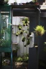 suspended string garden