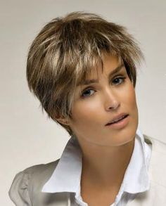 ... haircuts I like on Pinterest | Over 50, For women and Short shag