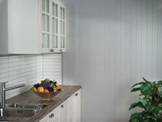Plankett - Faspanel Kitchen Cabinets, Home Decor, Kitchen Cupboards, Homemade Home Decor, Decoration Home, Kitchen Shelves, Interior Decorating