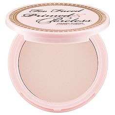 Too Faced - Primed & Poreless Pressed Powder. I've heard good things.