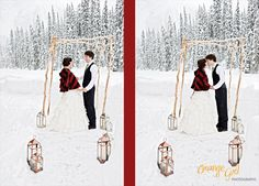 winter outdoor wedding ideas | Outdoor Wedding Reception Ideas for Different Seasons