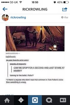 I think everybody read this in Tom Felton's voice I mean it's inevitable