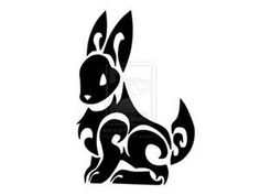 Tribal bunny - Bing Images