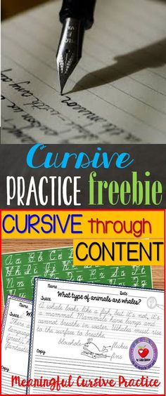 FREE Customizable Print and Cursive Handwriting Practice