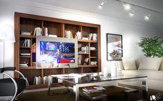 DAVIDSTUDIO - Proyecto P0029-13 Librería especial TV http://www.davidstudio.es/?p=884