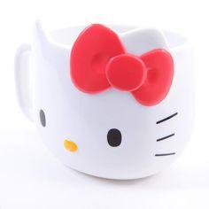 Hello Kitty Face Plastic Mug 4