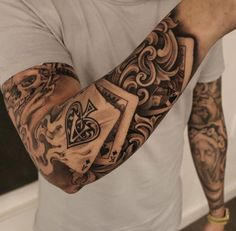 Pay 2 Play by Eric Marcinizyn, an artist based in Los Angeles. #menstattoos