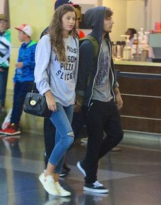 el and louis at jfk :)