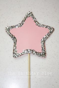 Make their own wands- I'm not sure how to attach the stars to the wooden skewer?