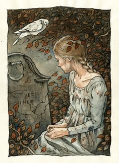 """Cinderella"" by Liga marta Klavina (the grave of her mother)"