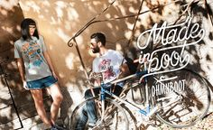 Ohmyboot Clothing - Lookbook 2015 - Pinocchio & Haws and Sparrows Tshirts