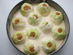 Ciasto z jabłkami napełnionymi masą orzechową i kajmakową | Smaki Weroniki