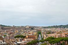 Landscape view of the ancient Rome Italy